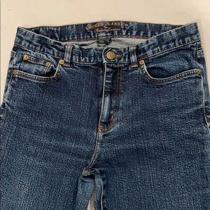 Ralph Lauren Women's Blue Jeans Size 6